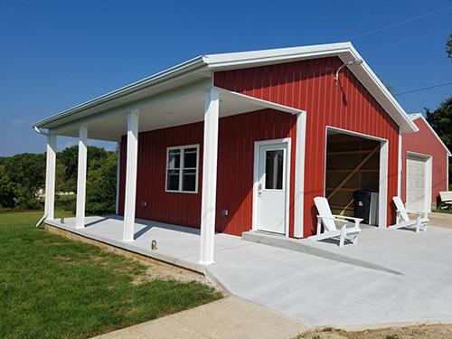 Barn, Siding, Red, Remodel, New, Revamp,